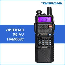 Baofeng UV-5R Walkie Talkie 3800mAh 5W VHF UHF Dual Band Han