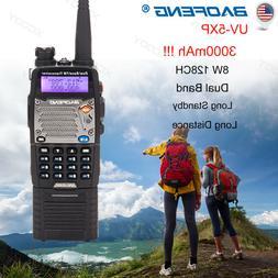 BAOFENG UV-5XP 8W Dual Band 3000mAh Walkie Talkie Long Range