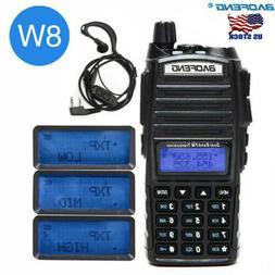 Baofeng UV-82 8W Two Way Radio Walkie Talkie Dual Band VHF U