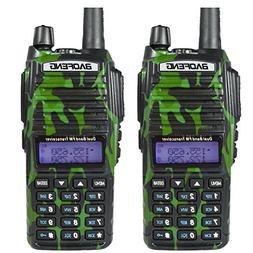 2PCS BaoFeng UV-82 Dual Band  Analog Portable Two-Way Radio