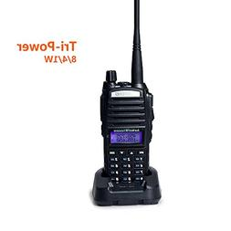 Baofeng UV-82 High Power Tri-Power 8/4/1-Watt Dual Band VHF