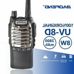 Baofeng UV-8d Walkie Talkie 8W Headset Powerful Portable Two