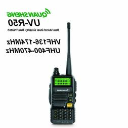 QUANSHENG UV-R50 Two-Way Radio UHF/VHF Dual Band 5W Handheld