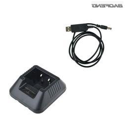 Baofeng UV5R USB Battery <font><b>Charger</b></font> For Por