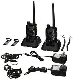 BaoFeng UV-5RA Two-Way Radio, Dual band UHF/VHF Ham 136-174/