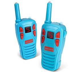 Kidzlane Voice Changing Walkie Talkies for Kids - 2 Mile Ran