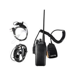 Walkie Talkie 16CH 10W Transceiver UHF Radio Two Way Radio +