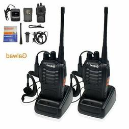 Walkie Talkie 2pcs in One Box with Rechargeable Battery Head