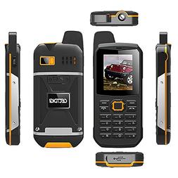 Cectdigi F8 Walkie Talkie Dual Sim Card Phone with Power Ban