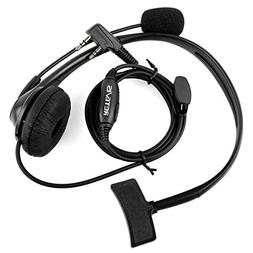 Retevis Walkie Talkie Earpiece Headset with Mic Noise Cancel