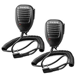 Walkie Talkie Handheld Speaker Mic, Shoulder Microphone for