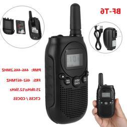 BaoFeng T6 Walkie Talkie Portable Mini Handheld Two Way Ham