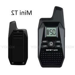 Walkie Talkie T2 MINI Portable Radio UHF 400-480MHz FM Trans