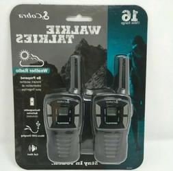 Cobra Walkie-Talkie, Two-Way Radio, 2Per Pack, New, Not Refu