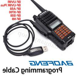 Baofeng Walkie Talkie USB Programming Cable Cord CD For UV-9
