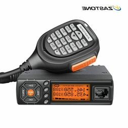 Zastone Walkie Talkie VHF UHF Mini Radio HF Transceiver Two