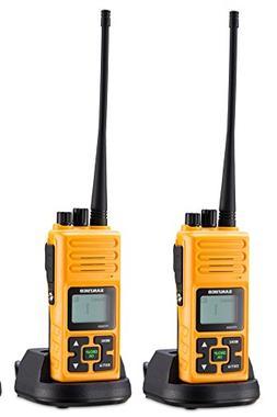 SANZUCO Walkie Talkie, 20 Channel Hands Free GMRS UHF 2 Way