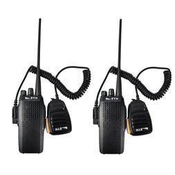 HYS Walkie Talkies 10W UHF 16CH TOT VOX CTCSS DCS Two Way Ra
