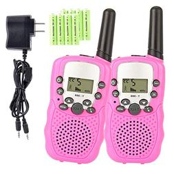 Kids Walkie Talkies with Rechargeable Battery , 22 Channel F