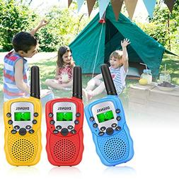 Walkie Talkies, Dignel Walkie Talkies for Kids, 3 Pack Mini