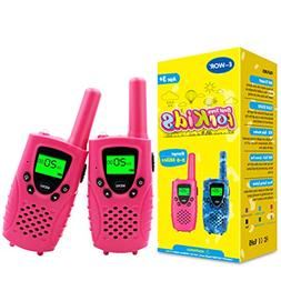 Walkies Talkies for Kids, 22 Channels FRS/GMRS UHF Two Way R