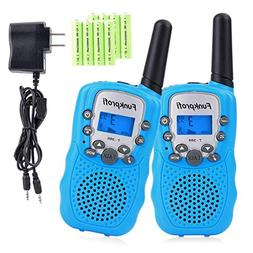 Funkprofi Walkie Talkies for Kids 22 Channels Long Range Rec
