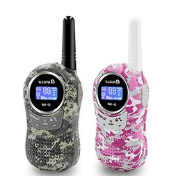 Qniglo Walkie Talkies for Kids, 22 Channels Two Way Radio 3