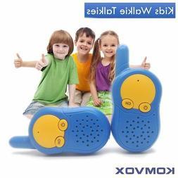 KOMVOX Kids Walkie Talkies Pink, with Private Channel, Birth