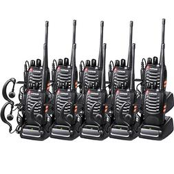 Baofeng Walkie Talkies BF-888s Radios Long Range with Earpie