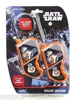 Star Wars Walkie Talkies Darth Vader Stormtrooper Toy Walkie