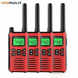 walkie talkies for adults 4 pack long