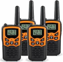Walkie Talkies for Adults Long Range 4 Pack 2-Way Radios Up