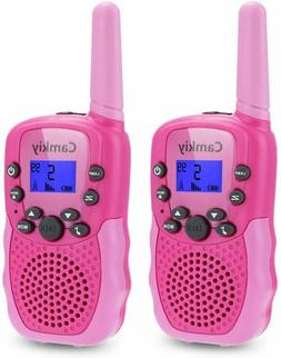 Camkiy Walkie Talkies for Girls- Fun Toys Voice Activated Wa
