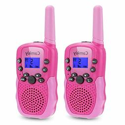 Camkiy Walkie Talkies for Girls- Fun Toys Voice Activated