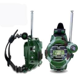 Walkie Talkies for Kids 2-Way Long Range Watch Radio Transce