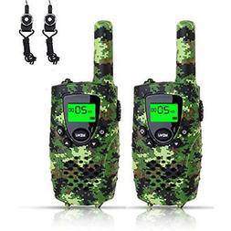 FAYOGOO Walkie Talkies For Kids, 22-Channel FRS/GMRS Radio,