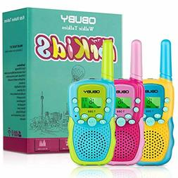 Obuby Walkie Talkies for Kids, 22 Channels 2 Way Radio Kid G