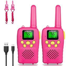 FAYOGOO Walkie Talkies for Kids 22 Channels 2 Way Radio Toy