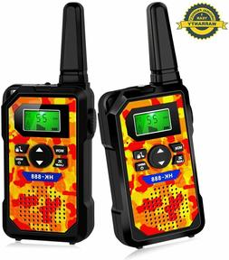 Walkie Talkies for Kids 22 Channels,Two Way Radio Flashlight