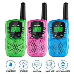 Walkie Talkies for Kids 3 Pack, Walky Talky Toys for Boys &a