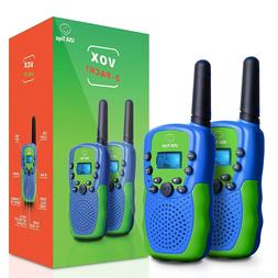 Walkie Talkies for Kids - Vox Box Voice Activated Walkie Tal