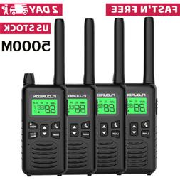Walkie Talkies FRS/GMRS Two Way Ham Radio 5000M Handheld Int