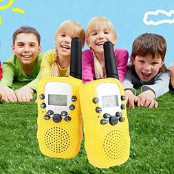 Feoowv Kids Walkie Talkie, 2pcs RT-388 Walkie Talkies for Ch
