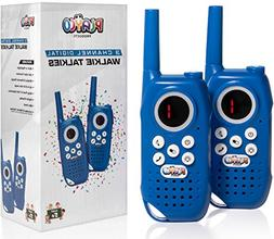 Playco Products Walkie Talkies for Kids - Fun Packaging Make