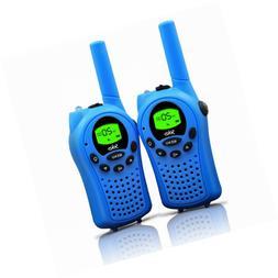 walkie talkies kids channel way radio miles frs gmrs handhel