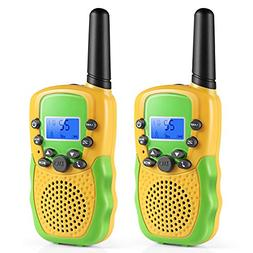 Walkie Talkies Kids, Toys 3-12 Year Old Boys 2 Way Radio 3 M