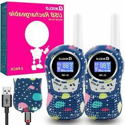 Qniglo Walkie Talkies Kids Adults 22 Channel Long Range 2 Wa
