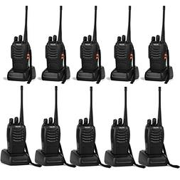 Ansoko Walkie talkies 10 Pack Long Range Rechargeable 2 Way
