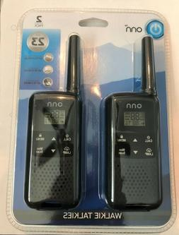 walkie talkies long range up to 23