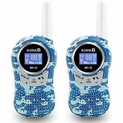 Qniglo Walkie Talkies Q168 For Kids , 22 Channel FRS/GMRS Tw